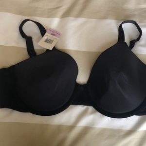 NWT 38D Vanity Fair Bra - black